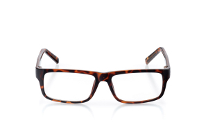 Men Full Frame Plastic  Aura: 16-04 Dark Brown Tortoise 2005626