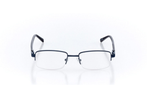 Men Semi Rimless Metal  Aura: 16-07 Navy 2005636