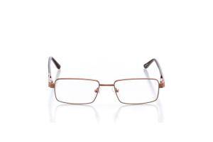Men Full Frame Metal  Aura: 16-18 Bronze & Brown 2005664