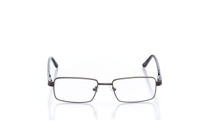 Men Full Frame Metal  Aura: 16-18 Gunmetal 2005663