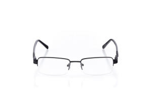 Men Semi Rimless Metal  Aura: 16-19 Black 2005824