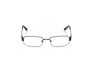 Men Full Frame Metal  Aura: 16-20 Black 2005827