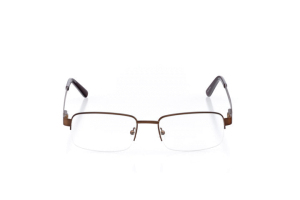 Men Semi Rimless Metal  Aura: 16-21 Bronze 2005829