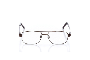 Men Full Frame Metal  Aura: 16-27 Brown 2005843