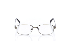 Men Full Frame Metal  Aura: 16-27 Silver 2005842