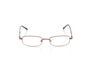 Men Full Frame Metal  Aura: 16-53 Brown 2005902