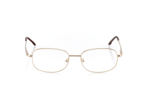 Men Full Frame Metal  Aura: 16-54 Gold & Brown 2005904
