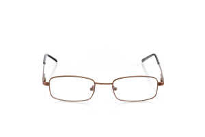 Men Full Frame Metal  Aura: 16-56 Brown 2005909