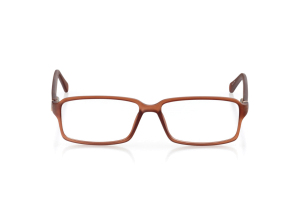 Men Full Frame Plastic  Aura: 16-61 Matte Brown & Gold 2006562
