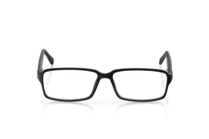 Men Full Frame Plastic  Aura: 16-61 Matte Black and Gunmetal 2006561