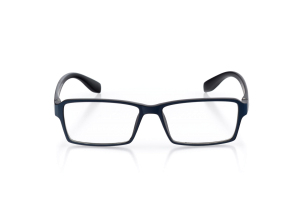 Men Full Frame Plastic  Aura: 16-73 Matte Navy & Black 2007224