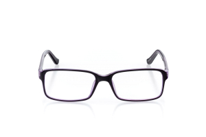 Women Full Frame Plastic  Aura: 16-01 Purple & Clear Purple 2005553