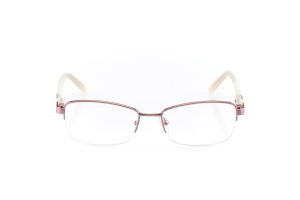 Women Semi Rimless Metal  Aura: 16-09 Pink & Soft Pink 2005579