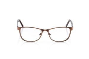 Women Full Frame Metal  Aura: 16-10 Brown 2005582