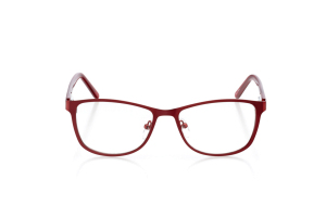 Women Full Frame Metal  Aura: 16-10 Red 2005581