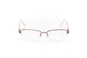 Women Semi Rimless Metal  Aura: 16-100 Pink and Soft Pink 2007484