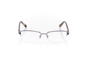 Women Semi Rimless Metal  Aura: 16-100 Pink and Soft Pink 2007483