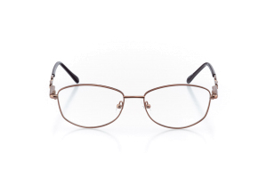Women Full Frame Metal  Aura: 16-102 Brown 2007489