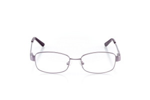 Women Full Frame Metal  Aura: 16-13 Matte Periwinkle & Grape Purple 2005587
