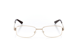 Women Full Frame Metal  Aura: 16-14 Gold & Brown 2005590