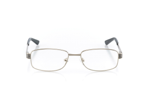Women Full Frame Metal  Aura: 16-14 Silver & Shiny Gray 2005591
