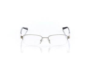 Women Semi Rimless Metal  Aura: 16-16 Silver & Gray 2005597