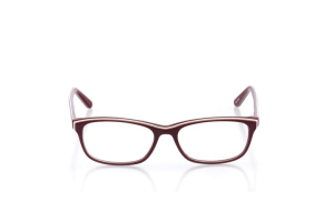 Women Full Frame Plastic  Aura: 16-22 Cranberry & White 2005612