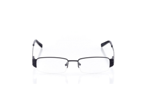 Women Semi Rimless Metal  Aura: 16-24 Black 2005920