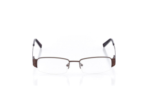 Women Semi Rimless Metal  Aura: 16-24 Brown 2005918