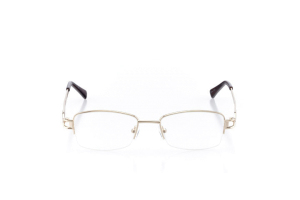 Women Semi Rimless Metal  Aura: 16-26 Gold 2005924