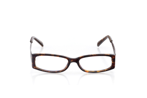 Women Full Frame Plastic  Aura: 16-32 Dark Tortoise & Brown 2005938