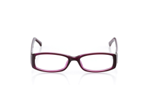 Women Full Frame Plastic  Aura: 16-33 Purple & Clear Purple 2005940