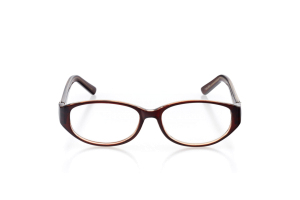 Women Full Frame Plastic  Aura: 16-35 Brown and Clear Brown 2005944