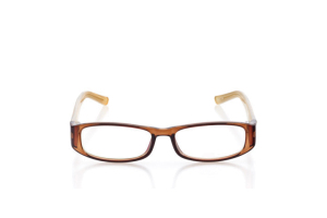 Women Full Frame Plastic  Aura: 16-36 Crystal Brown 2005948