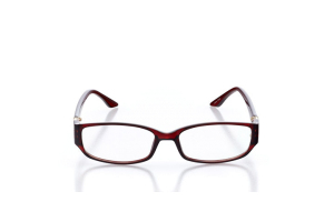 Women Full Frame Plastic  Aura: 16-38 Burgundy 2005952