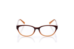 Women Full Frame Plastic  Aura: 16-49 Brown Peach Fade 2005971