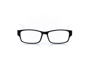 Women Full Frame Plastic  Aura: 16-54 White & Black 2005986