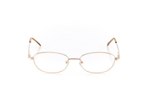 Women Full Frame Metal  Aura: 16-57 Gold & Clear Marigold 2005996