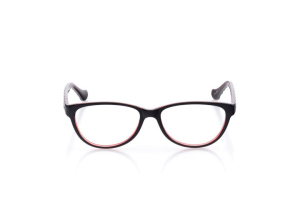 Women Full Frame Plastic  Aura: 16-68 Black/Wine 2006216