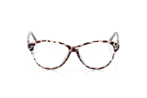 Men Full Frame Plastic  Aura: 16-94 Brown & Clear Leopard 2007465