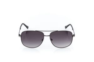 Men Full Frame Metal  CARTER: 16-16 Gunmetal & Black w/ Black Gradient Tint 2007830