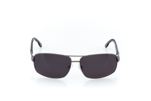 Men Full Frame Metal  CARTER: 17-07 Gunmetal & Black w/ Black Tint 2008755