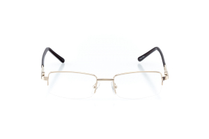Men Semi Rimless Metal  CENTENNIAL: 16-01 Gold & Brown 2005691