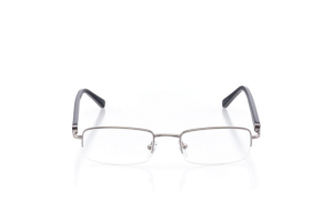 Men Semi Rimless Metal  Centennial: 16-47 Silver 2006279