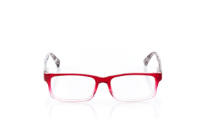 Women Full Frame Plastic  Claire: 16-11 Red Fade 2005385