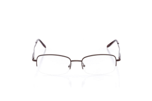 Women Semi Rimless Plastic  Claire: 16-26 Brown 2006621