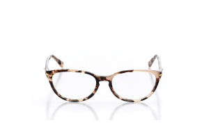 Women Full Frame Plastic  Christian of Paris: 15-30 Brown Marble 2002071