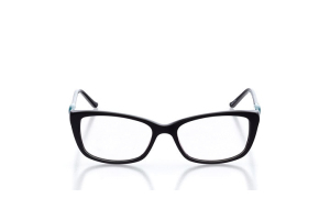 Women Full Frame Plastic  Christian of Paris: 16-19 Black & Teal 2005070