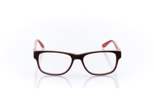 Women Full Frame Plastic  Christian of Paris: 16-27 Brown & Coral 2005095