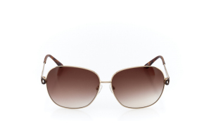 Women Full Frame Metal  Christian of Paris: 17-03 Gold & Tortoise & Brown w/ Brown Gradient Tint 2008680
